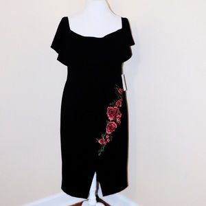 NWT Bisou Bisou Women's Plus 14 Dress